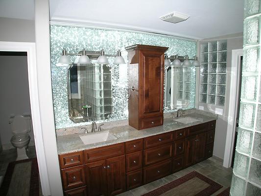 Amazing Bathroom Mirrors Over Vanity  Bathroom_Mirror_Vanity_makeover1